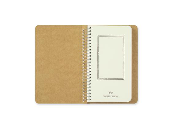 Blank MD Paper A6 Slim Spiral Ring Notebook