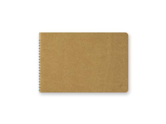 Blank MD Paper B6 Spiral Ring Notebook