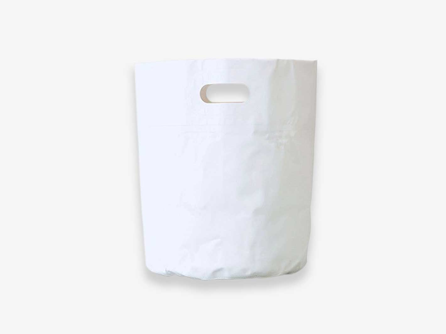 Tarp Bag Round S (16L)- White