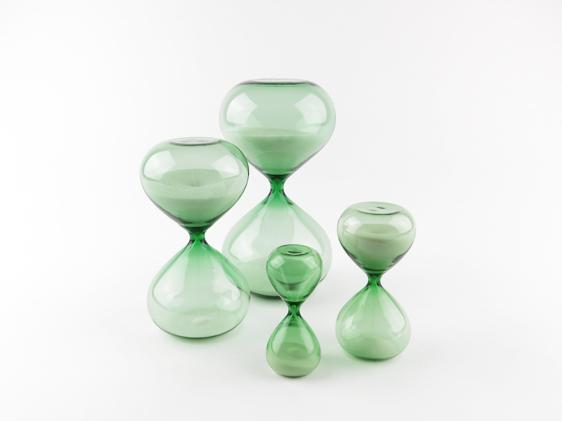 Hourglass Green 5 Minutes
