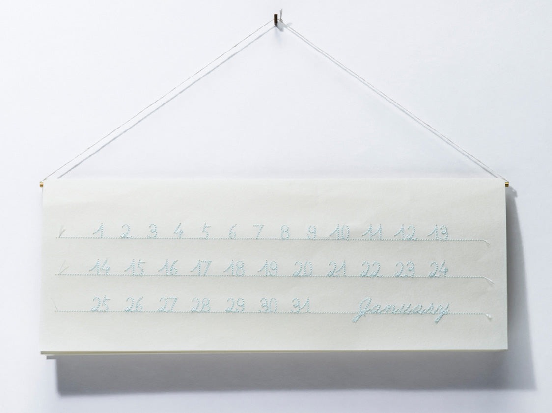 A String of Beautiful Days Calendar