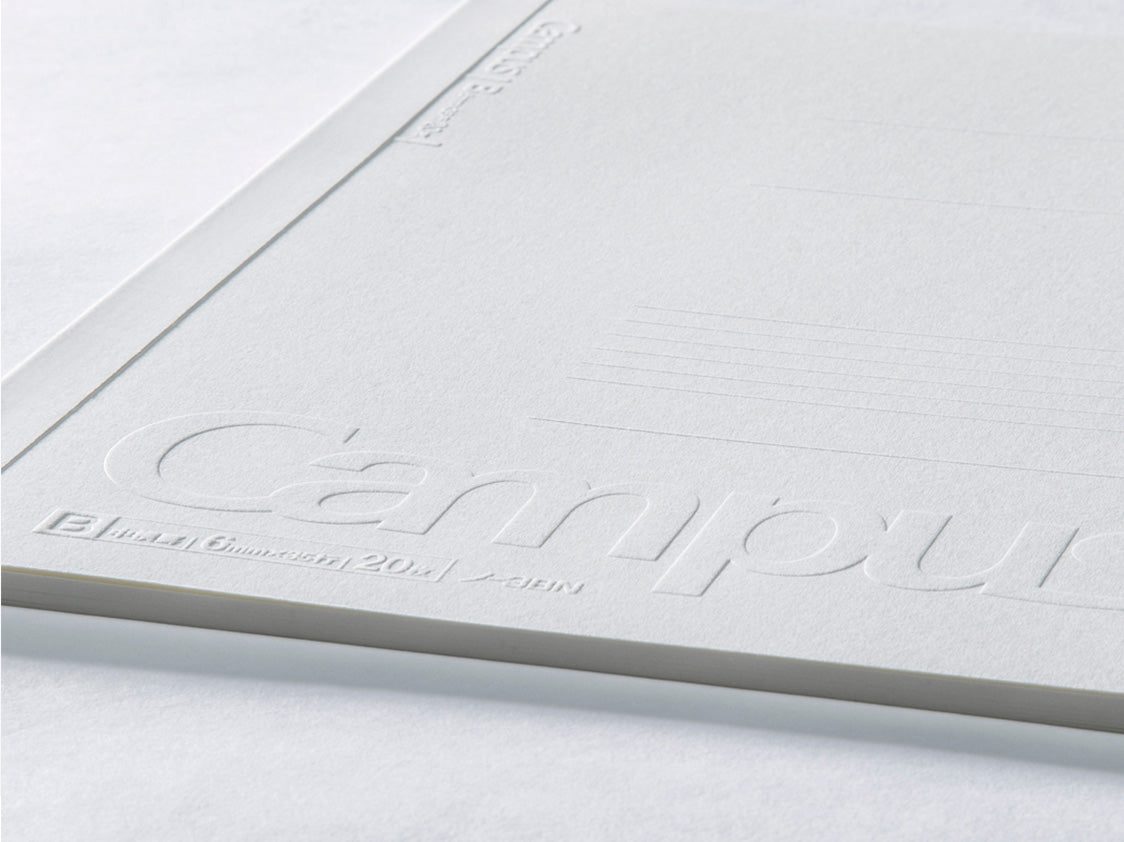 Embossed Campus Notebook