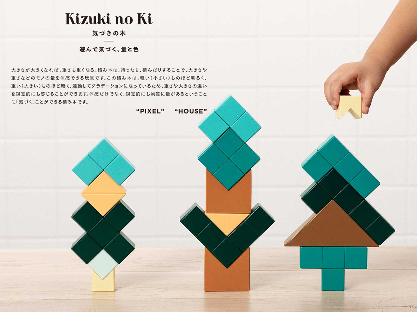 Kizuki no Ki Blocks - House