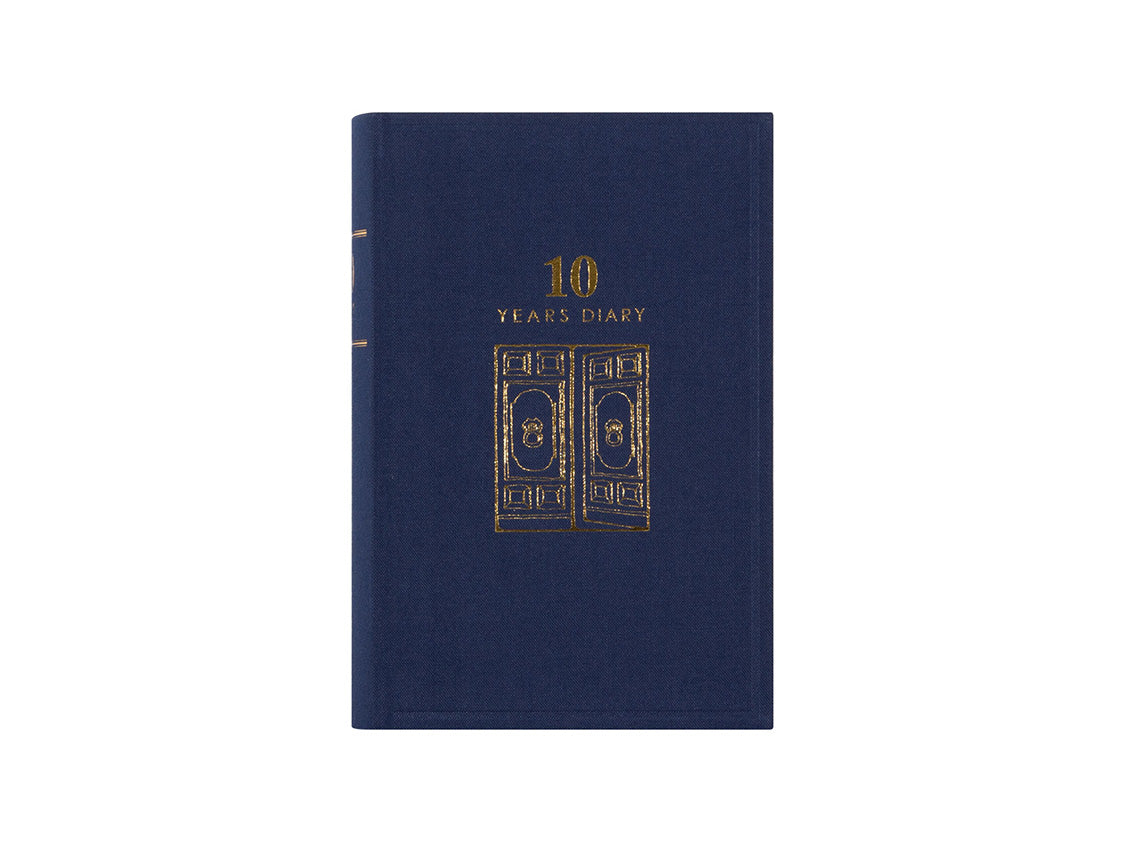 10 Year Diary Blue