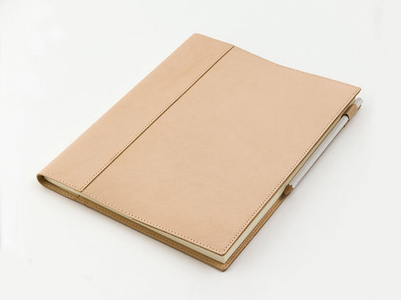 MD Notebook Leather Cover L