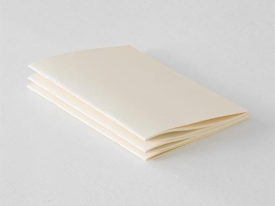 MD Notebook Light Blank A5 3-pack