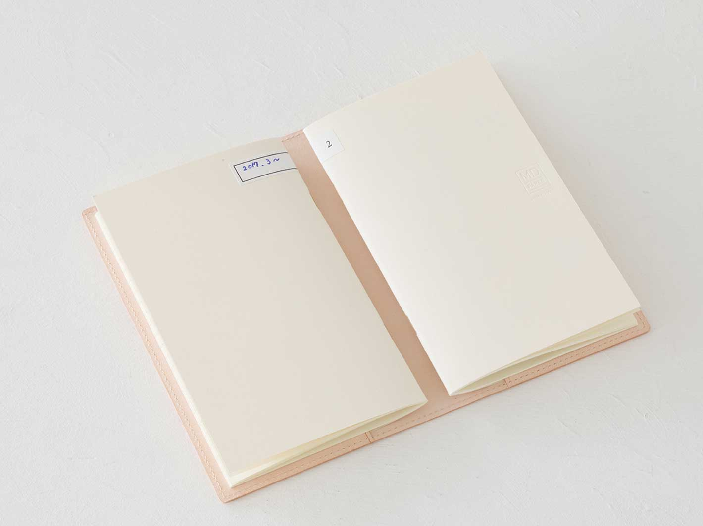 MD Notebook Light Lined A6 3-pack