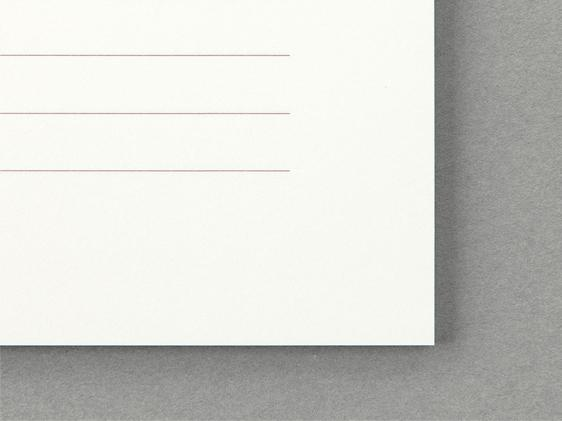 MD Paper Letterpad Cotton