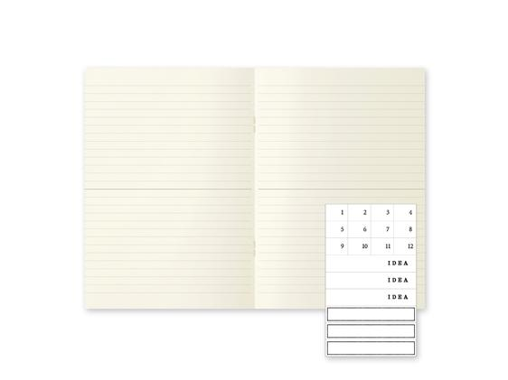MD Notebook Light Lined A5 3-Pack