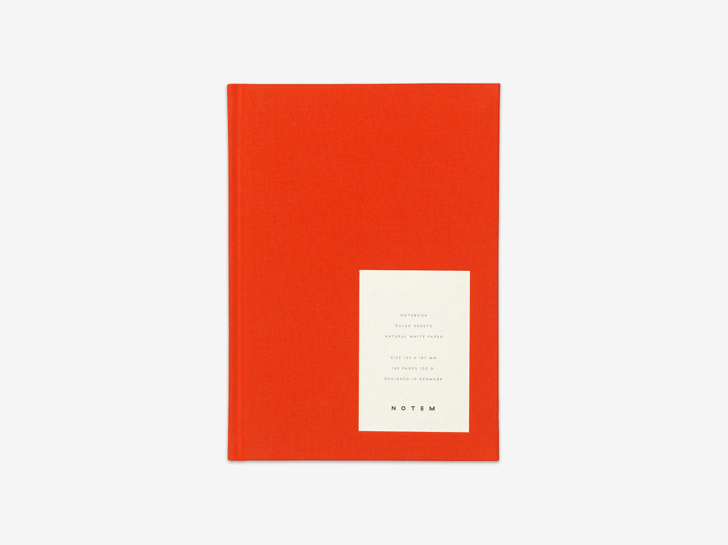 EVEN Notebook Medium Bright Red
