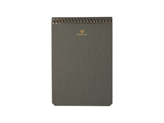 Notebook Charcoal Grey A6