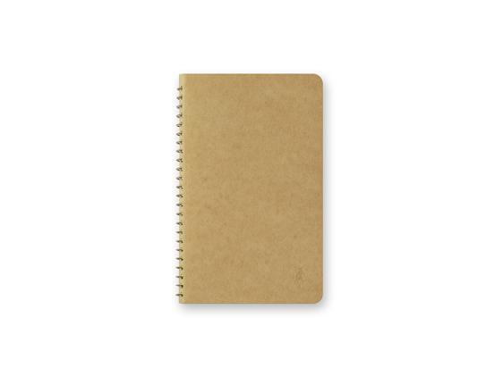 Paper Pocket A6 Slim Spiral Ring Notebook