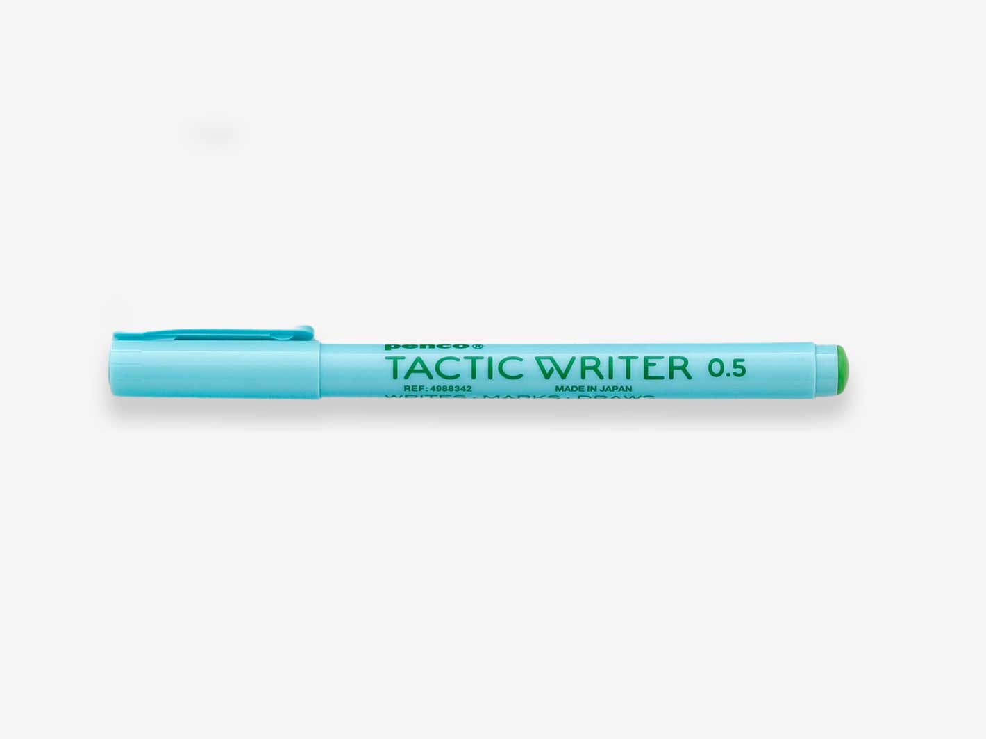 Tactic Writer 0.5 Green