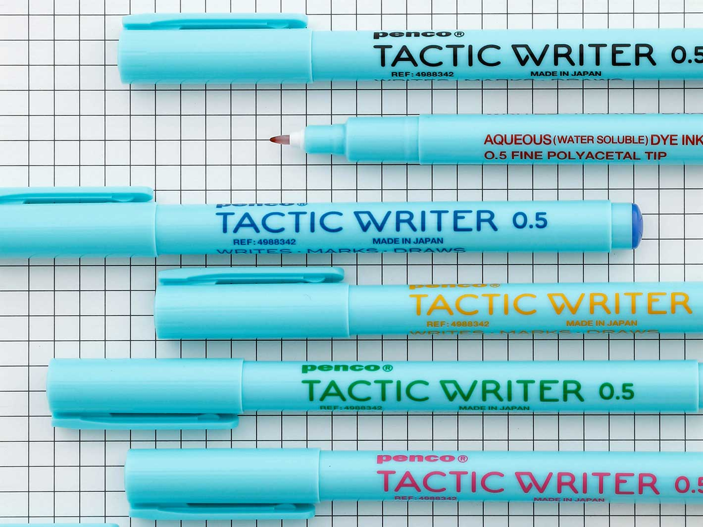 Tactic Writer 0.5 Blue
