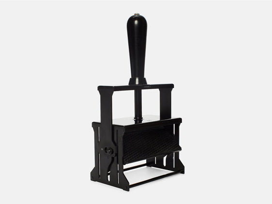 Self Inking Stamp Black + Black XL