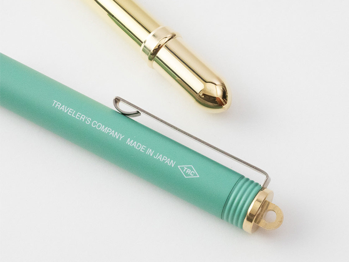 Brass Fountain Pen Limited Edition Factory Green