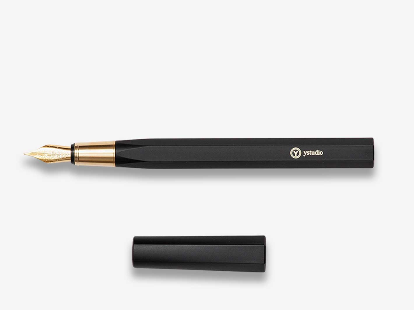 Resin Fountain Pen Black