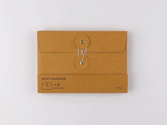 Kraft Envelopes M Orange