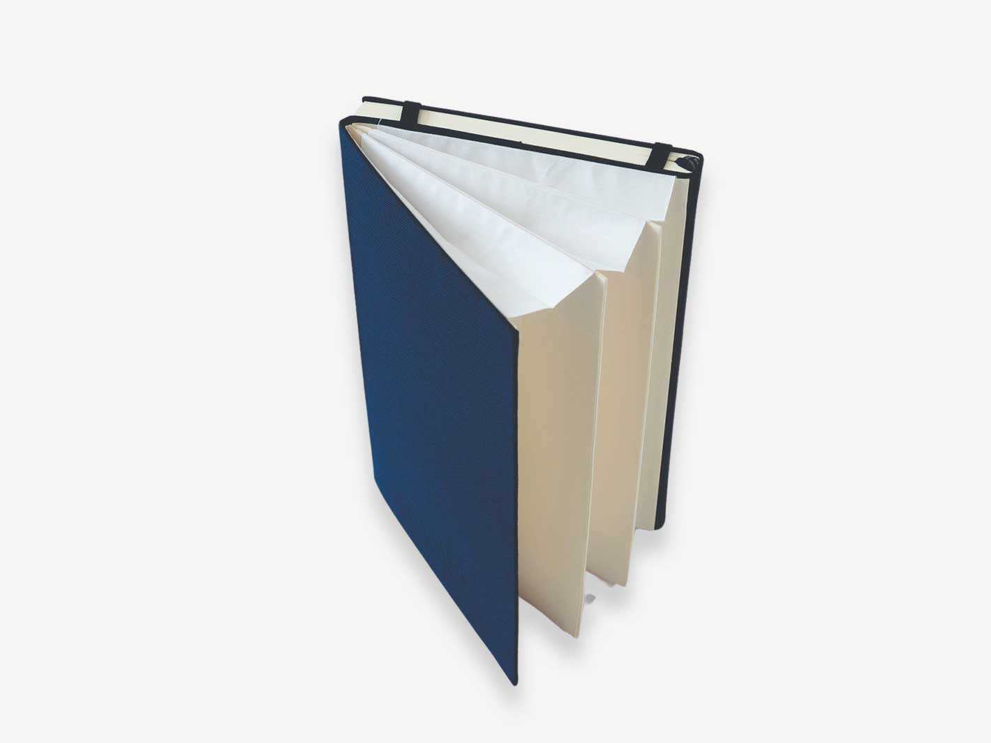 Wallet Accordion Notebook Navy