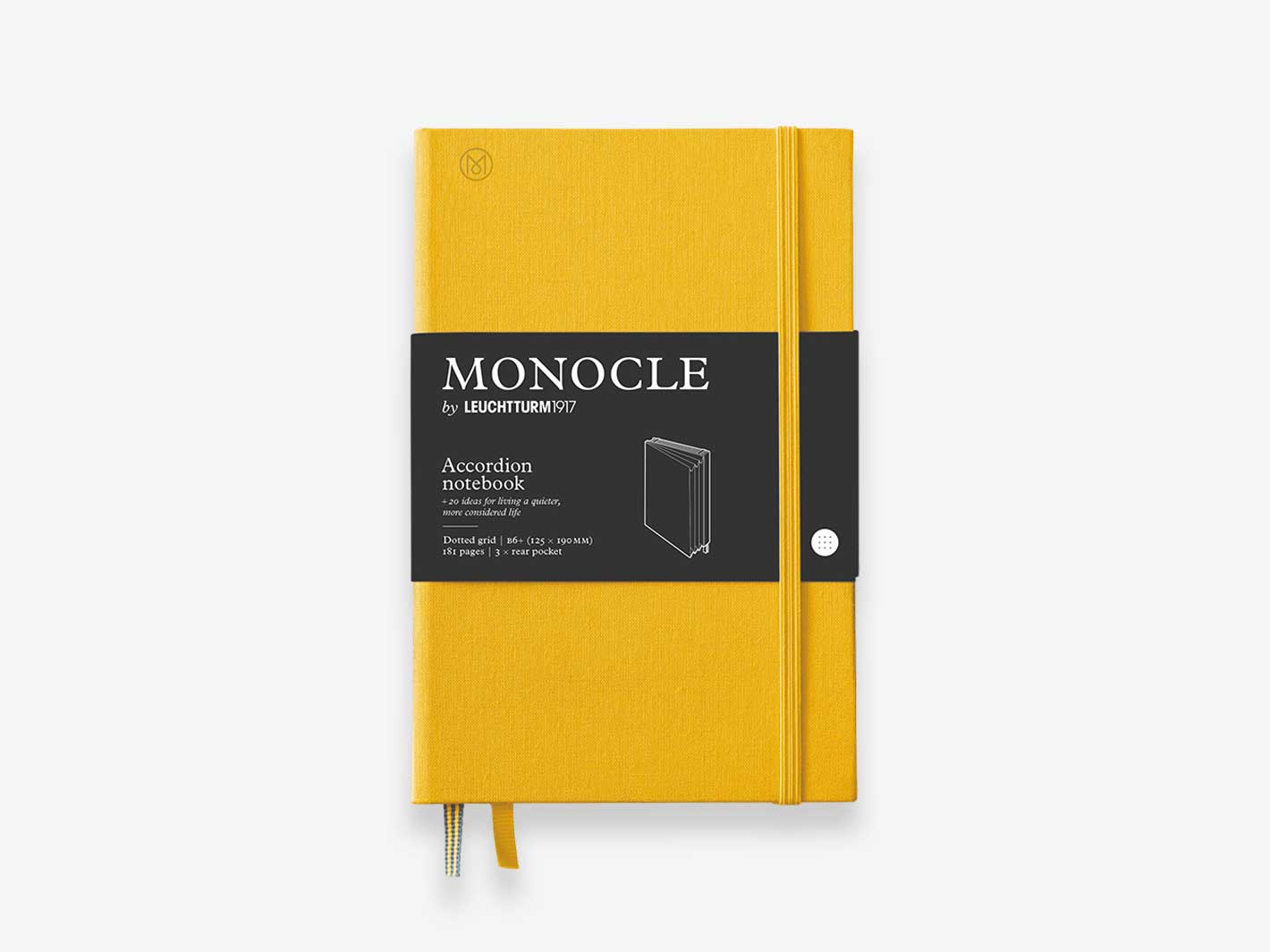 Wallet Accordion Notebook Yellow