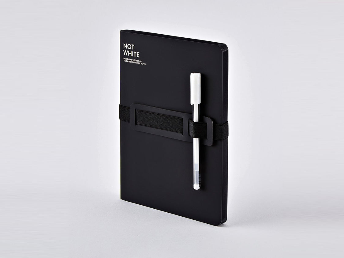 Not White, Black Notebook