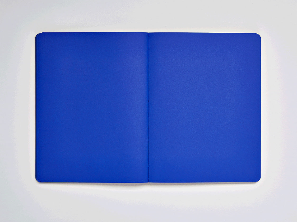 Not White, Blue Notebook