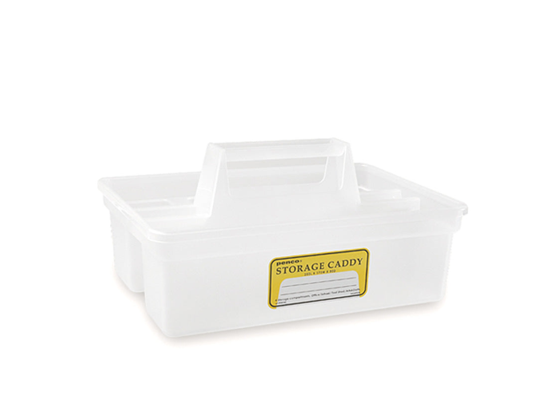 Storage Caddy Clear