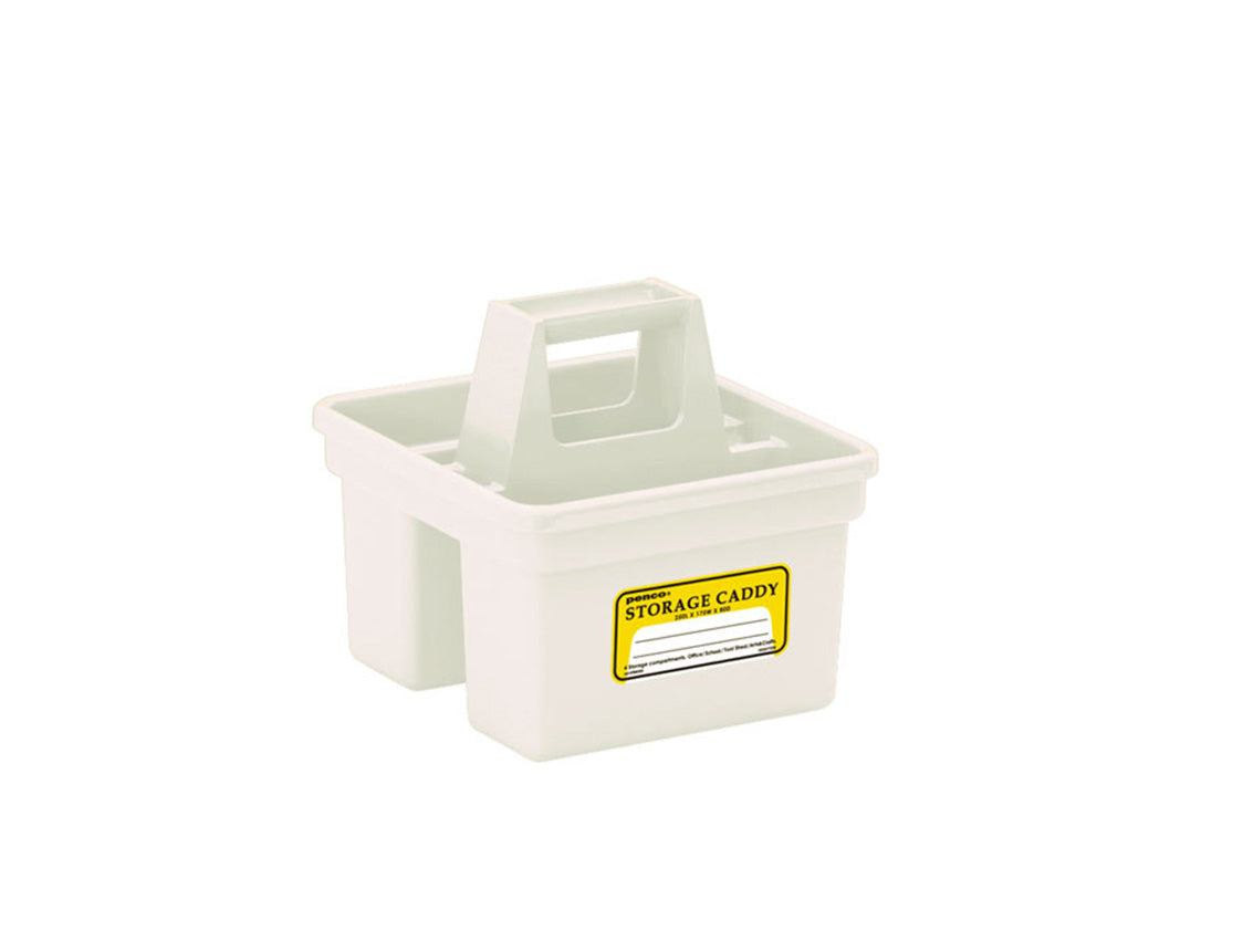 Storage Caddy Small White