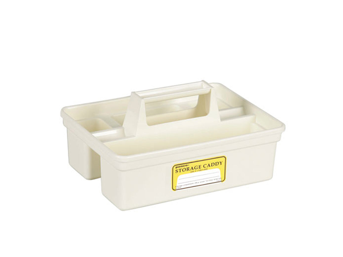 Storage Caddy White