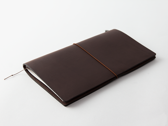 Traveler's Notebook original brown leather cover