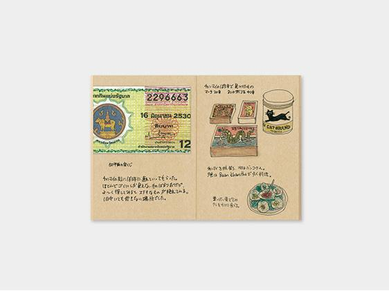 009. Kraft Paper Refill TRAVELER'S notebook Passport Size