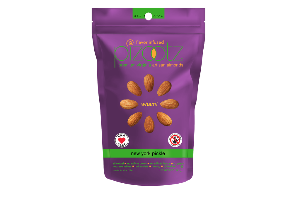 NEW YORK DILL PICKLE - Almonds - 5oz