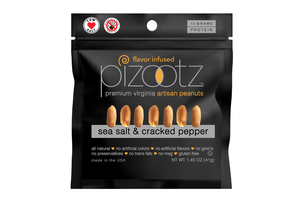 SEA SALT & CRACKED PEPPER 25 Pack