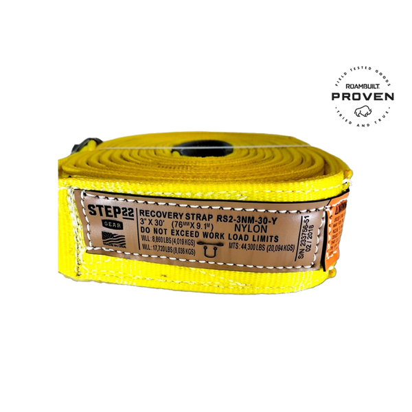 RECOVERY STRAP 3 INCH MBS 44,300 LBS