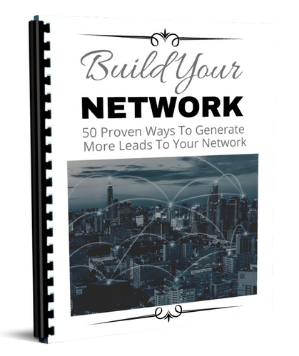 Build Your Network - Curtis G Martin