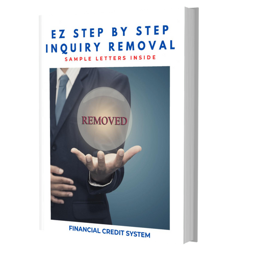 EZ Step by Step Inquiry Removal from (eBook) - Nitram Industries LLC