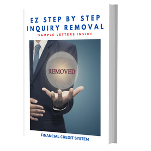 EZ Step by Step Inquiry Removal