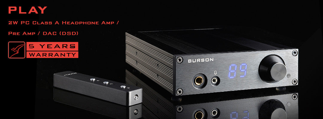 Burson Play with V5i- Desktop Power