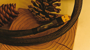 AfterDark. Project ClayX Black Lake Extreme Carbon Fiber Woven USB Cable
