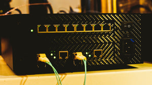AfterDark. Project ClayX Constellation Optical Lan Isolated Network Switch