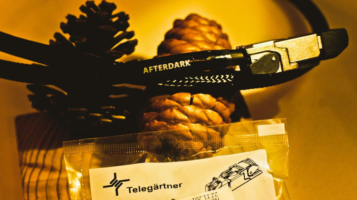 AfterDark. Constellation (CFS) Audiophile Network Cable (Telegartner MFP8 Edition)