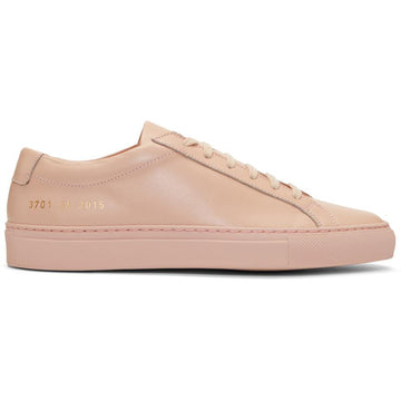 COMMON PROJECTS コモンプロジェクツ/ピンクピンク/Achilles スニーカー /ピンククラシック/メンズ靴/1528