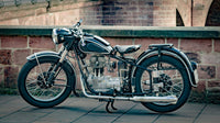 Restored 1929 BMW Motorcycle