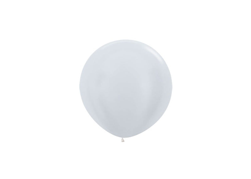 R18 - Satin Pearl White - 405 - 50 Pcs