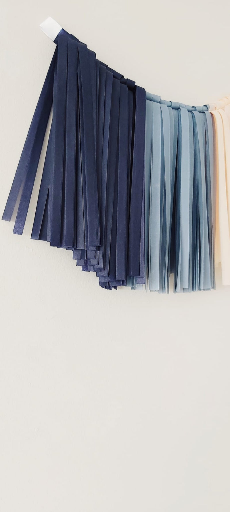 Tassel Blue Night 140 x 25 cm