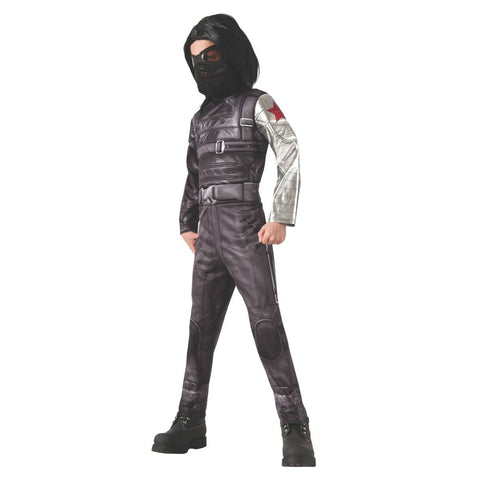 Winter Soldier Deluxe Costume for Boys, Captain America