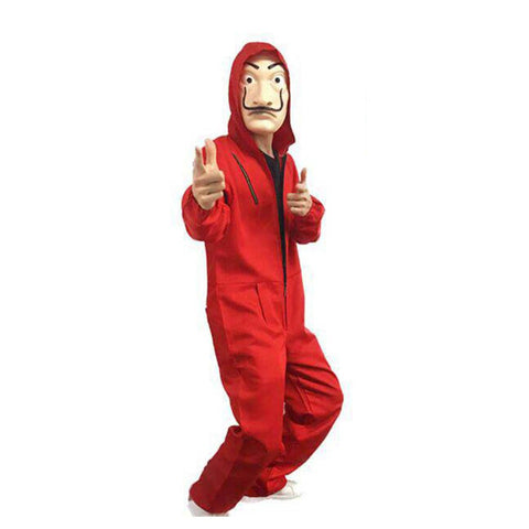 Casa de Papel Costume and a Mask for Adults, Money Heist