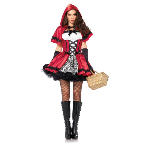 Gothic Little Red Riding Hood Costume for Women