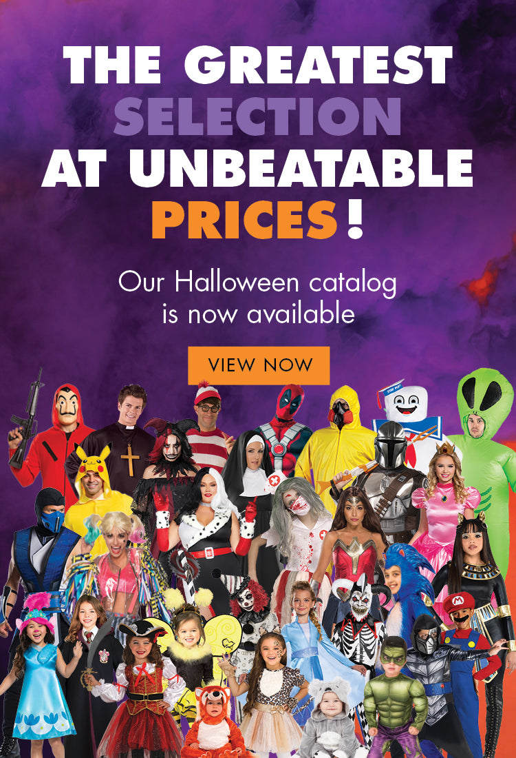 the greatest selection at unbeatable prices, 2020 halloween catalog.