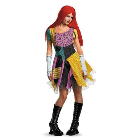 Sally Deluxe Costume for Women, Nightmare Before Christmas